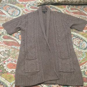 Banana Short Sleeved Cardigan